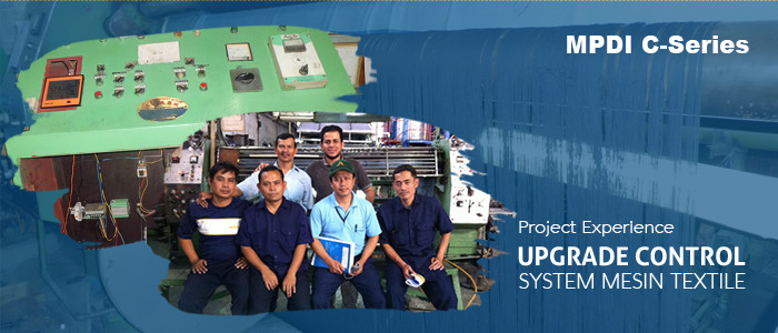 Upgrade Control System Mesin Textile